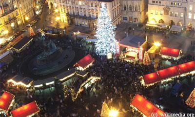 Рождественская ярмакра в Праге.Prague Christmas Market