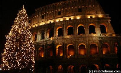 Рождественская ярмакра в Риме. Rome Christmas Market