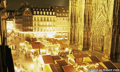 Рождественская ярмакра в Страсбурге. Strasbourg Christmas Markets