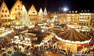 Рождественская ярмарка в Вене. Vienna Christmas Market