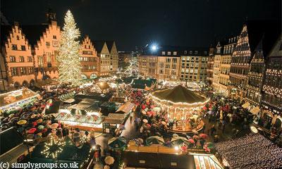Рождественская ярмакра в Брюсселе. Brussels Christmas Market