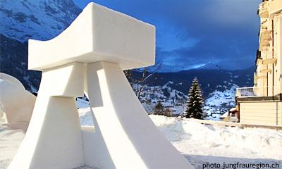 Снежный фестиваль в Гриндельвальде Snow Festival Grindelwald