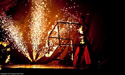 фестиваль огня «Огни Востока»