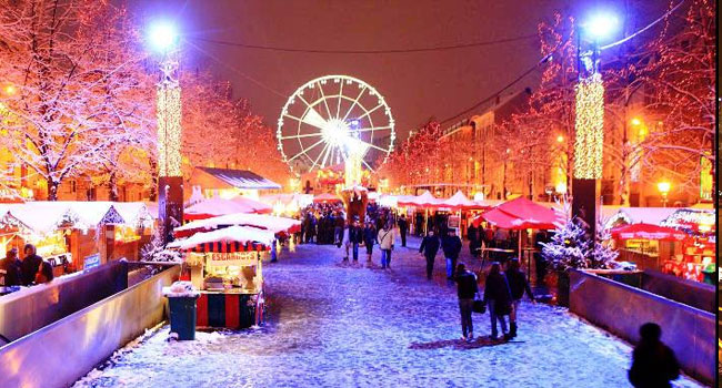 Рождественская ярмарка в Брюсселе. Brussels Christmas Market