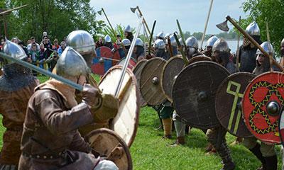 фестиваль исторической реконструкции раннего средневековья Русь Изначальная
