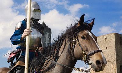 фестиваль средневековой культуры и быта восточной Европы и северо-запада Руси Длинный Герман