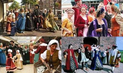 Исторический фестиваль Золотой век Голландии