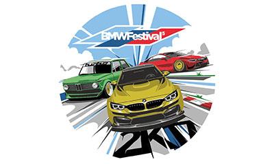 фестиваль автомобилей BMW и Mini BMW Festival